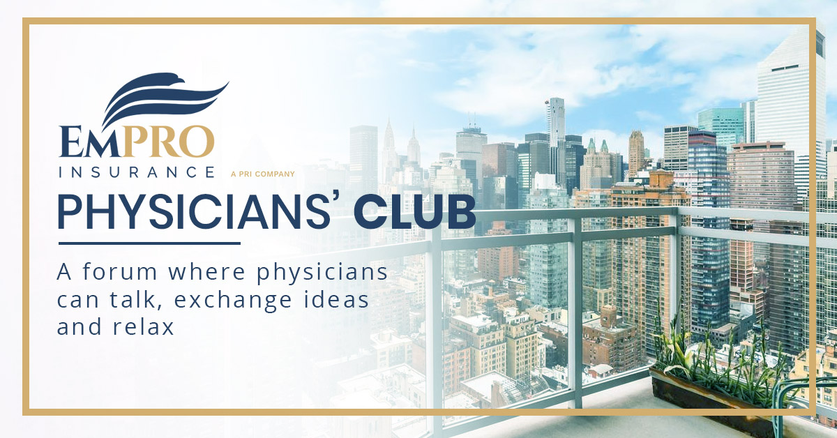Physicians club banner